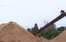 Thái Nguyên: Người dân bức xúc vì hoạt động khai thác cát sỏi của doanh nghiệp