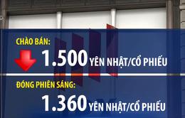 Thị trường chứng khoán châu Á theo dõi sát phiên IPO của SoftBank