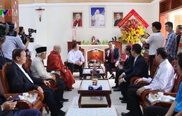 Chủ tịch Ủy ban Trung ương MTTQ Việt Nam chúc mừng Giáng sinh tại tỉnh Bình Dương