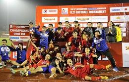 Giải U21 Quốc tế 2018: U21 Việt Nam chính thức lên ngôi vô địch sau loạt luân lưu