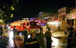 TP.HCM: Cháy dãy nhà trọ, 1 nữ công nhân tử vong