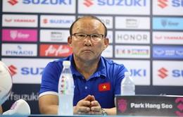 Họp báo trước trận CK lượt đi AFF Cup 2018: HLV Park Hang Seo cẩn trọng khi gặp lại Malaysia