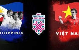 Lịch thi đấu và trực tiếp bán kết lượt đi AFF Cup 2018 ngày 02/12: ĐT Philippines - ĐT Việt Nam