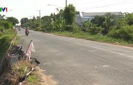 Xuất hiện nhiều điểm sạt lở trên Tỉnh lộ 957, An Giang