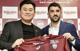 David Villa trở thành đồng đội của Andres Iniesta thêm 1 lần nữa