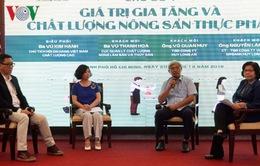 Thực phẩm chất lượng cao là xu hướng tiêu dùng ở Việt Nam
