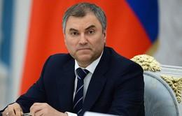Chủ tịch Duma Quốc gia Nga sắp thăm chính thức Việt Nam