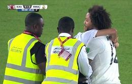 VIDEO: Tình huống hi hữu trong trận bán kết FIFA Club World Cup 2018
