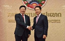 PTTg Phạm Bình Minh đồng chủ trì Tham vấn thường niên cấp Bộ trưởng Ngoại giao Việt Nam - Lào lần thứ 5