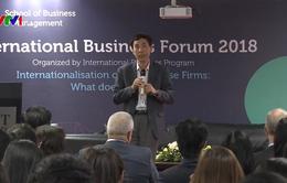 Thảo luận về quốc tế hóa doanh nghiệp Việt Nam