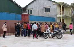 Hà Tĩnh: Hàng trăm công nhân đình công vì bị chậm trả lương