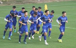 ĐT Việt Nam tập buổi đầu tiên chuẩn bị cho Asian Cup 2019