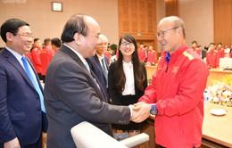Chùm ảnh: Thủ tướng gặp mặt Đội tuyển Bóng đá Việt Nam