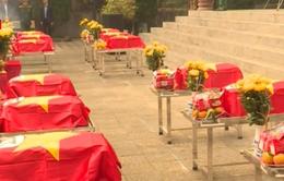Hà Giang tổ chức truy điệu và an táng hài cốt liệt sĩ