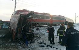 Tai nạn tàu hỏa tại Serbia, ít nhất 5 người thiệt mạng