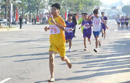 Sôi nổi giải việt dã - chạy vũ trang truyền thống Báo Đà Nẵng