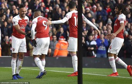 VIDEO: Aubameyang lập cúp đúp, Arsenal thắng dễ Burnley