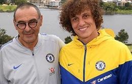 """David Luiz và HLV Sarri """"trống đánh xuôi, kèn thổi ngược"""" ở Chelsea"""