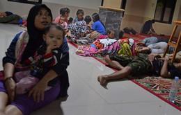 Tình cảnh tại hiện trường hứng chịu sóng thần ở Indonesia