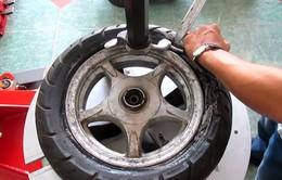 Những chú ý không thể bỏ qua đối với lốp xe tay ga