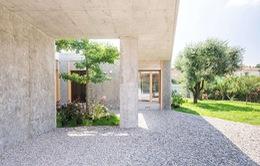 Ngôi nhà được xử lý để thông gió và đón nắng tốt