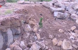 Phát hiện vụ khai thác đá trái phép số lượng lớn tại Đăk Lăk