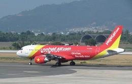 Máy bay Vietjet Air gặp sự cố