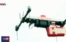 Dùng máy bay không người lái vận chuyển nội tạng cứu người