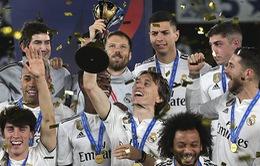 Bảng xếp hạng UEFA năm 2018: Real Madrid, Tây Ban Nha trên đỉnh châu Âu
