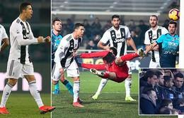 Vào sân từ ghế dự bị, Ronaldo cứu Juventus khỏi một trận thua