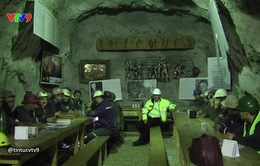 Quán cà phê trong hầm mỏ