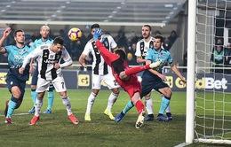 VIDEO tổng hợp diễn biến Atalanta 2-2 Juventus (Vòng 18 Serie A)