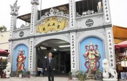 Nghệ nhân dân gian Đào Đăng Của: Người giữ hồn cho ngôi đền cổ