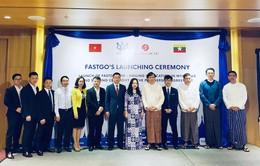 Ứng dụng gọi xe Việt FastGo chính thức ra mắt thị trường Myanmar