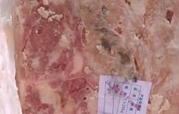 Bắt giữ vụ vận chuyển 2 tấn nầm lợn bẩn vào Hà Nội tiêu thụ