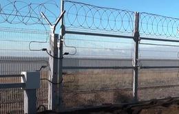 Nga hoàn thành xây dựng hàng rào giữa Crimea và Ukraine
