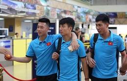Chiến thắng trở về, đội tuyển Việt Nam sẽ đến Hà Nội vào chiều nay