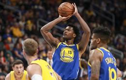 Damion Jones (Golden State Warriors) nghỉ hết mùa giải