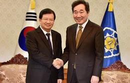 Phấn đấu tăng mạnh kim ngạch thương mại Việt Nam – Hàn Quốc