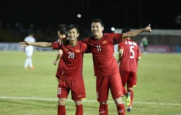 Không khí vui mừng đội tuyển Việt Nam thắng Philippines tại Đà Nẵng