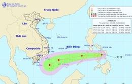 Áp thấp trên biển Đông có khả năng mạnh lên thành bão
