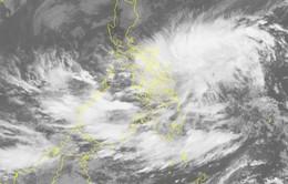 Áp thấp nhiệt đới xuất hiện trên biển Đông giật cấp 9