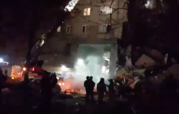 Sập chung cư do nghi nổ khí ga tại Nga, ít nhất 2 người thiệt mạng