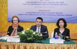 Hội thảo Công bố Báo cáo quốc gia UPR chu kỳ III