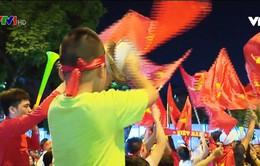 Muôn kiểu ăn mừng chiến thắng của đội tuyển Việt Nam