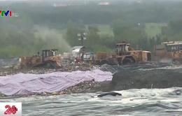 Dân phân loại rác, đơn vị thu gom gộp chung đem chôn lấp