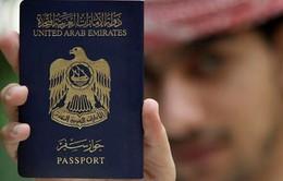 Hộ chiếu UAE quyền lực nhất thế giới