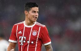 James Rodriguez sẽ ở lại Bayern Munich nhưng với 1 điều kiện