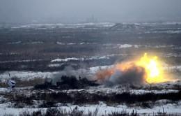 Ukraine tập trận quy mô trên toàn quốc