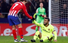 Barcelona xác nhận mất ngôi sao tới hết mùa giải 2018/19